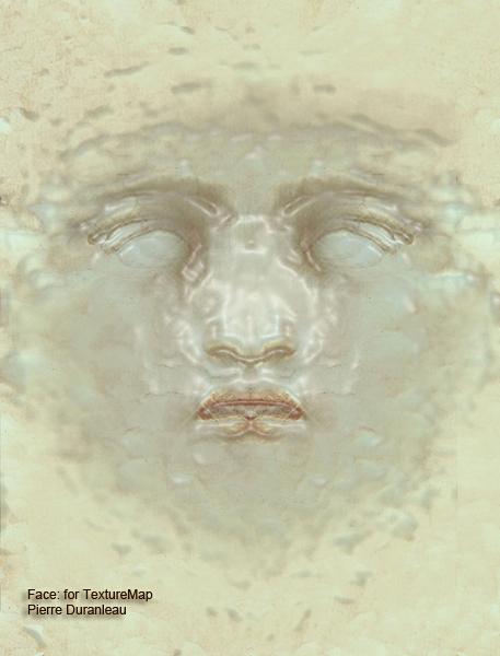 'Face' - Texturemap
