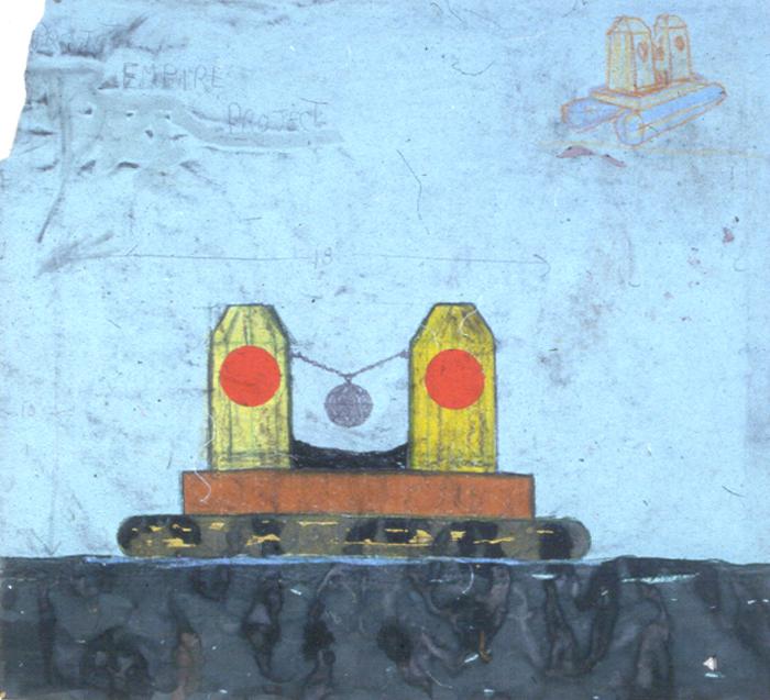 Missile barge