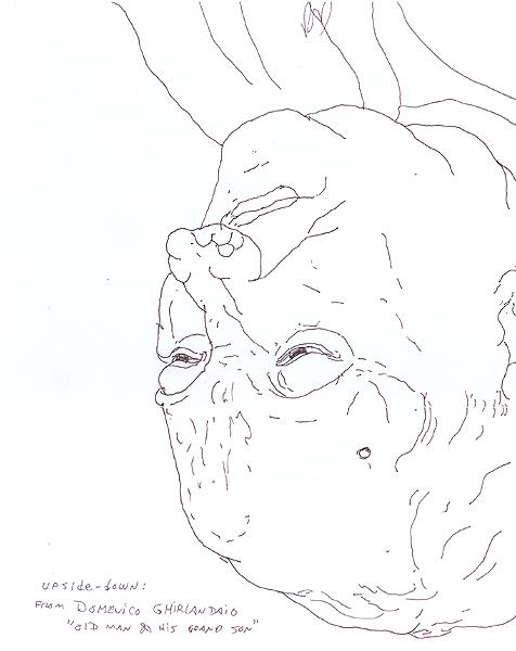 Upsidedown Ghirlandaio