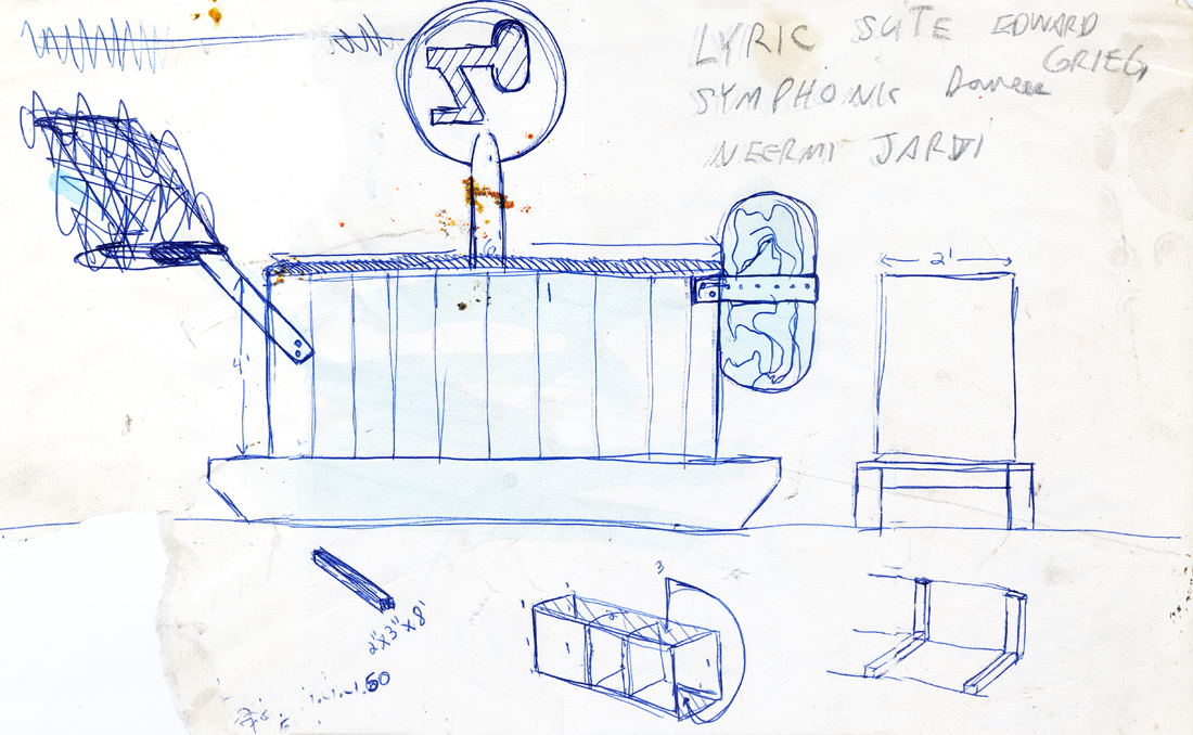 Cafargo projects urban installation - concept sketch